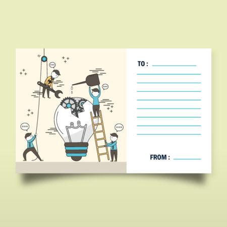 明信片x8張 -贈品